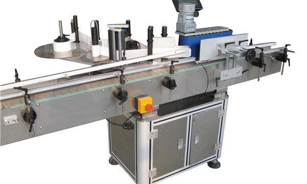 Prodhues makine për etiketimin e shisheve të rrumbullakët automatik