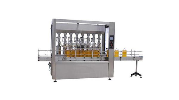 Makinë mbushëse e shisheve plotësisht 5 automatike të vajit të lubrifikantit