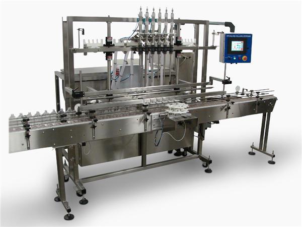 Makinë automatike për mbushjen e shisheve të lëngshme me sapun