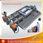 Makinë mbushëse e lëngshme korrozive e defoaming gjysmë-automatike