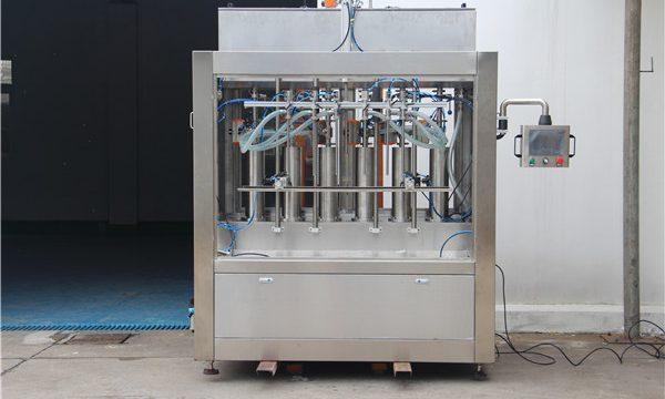 Makinë për mbushjen e salcave domate gjysmë-automatike të pastër pneumatike