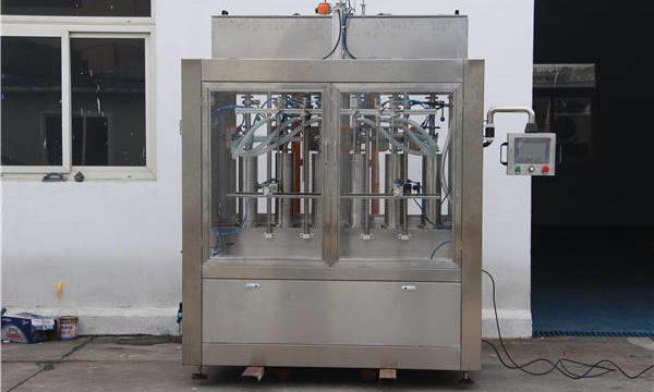 Makinë automatike për mbushjen e shisheve të bllokimit