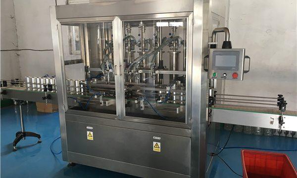 Makinë mbushëse e salcave për shishe qelqi