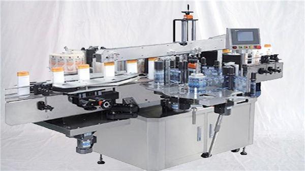 Makinë për etiketat e shisheve me sipërfaqe të lartë për parfum qelqi