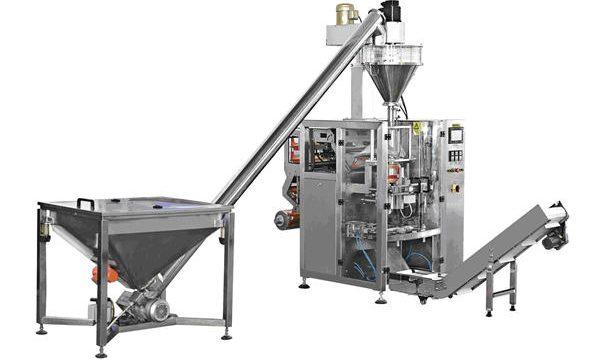 Makinë automatike për mbushjen e pluhurit ushqyes spiral të llojit të shisheve
