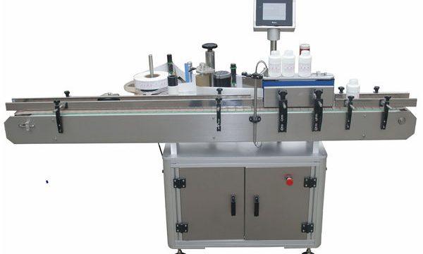 Anët e dyfishta automatike Llabeling Mmachine për shishe qelqi plastike për kafshë shtëpiake