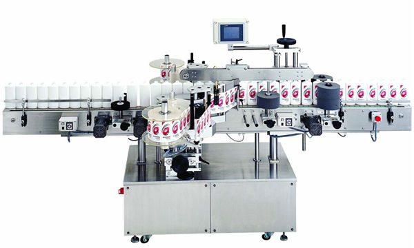 Makinë për etiketimin e shisheve për shitje