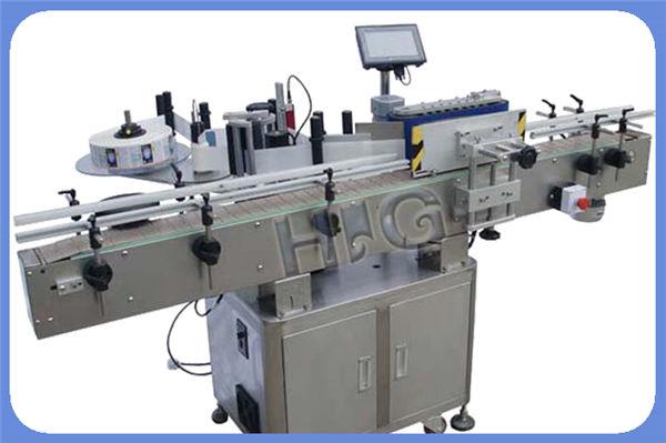 Prodhues makine për etiketimin e shisheve NPACK automatike me Printer