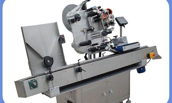 Makinë automatike e etiketimit të shisheve për raundin dhe katrorin