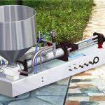 Makinë mbushëse e lëngshme e pastruesve gjysmë-automatik