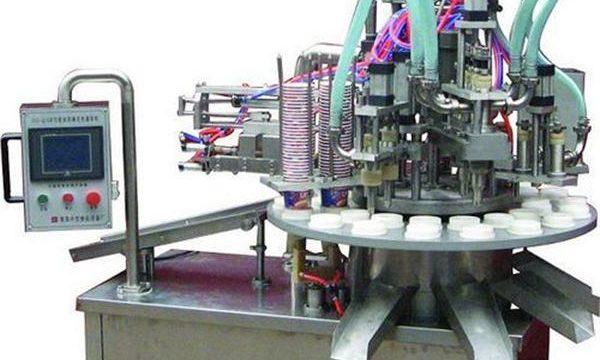 Makinë automatike e vajrave të kozmetikës / mbushjes së kremës