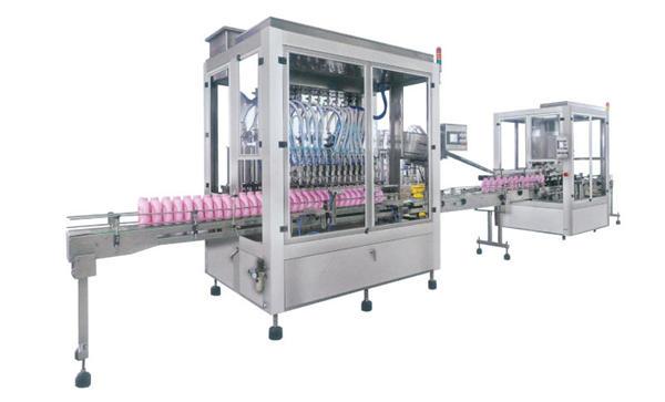 Makinë mbushëse automatike e pastruesit prej çeliku inox