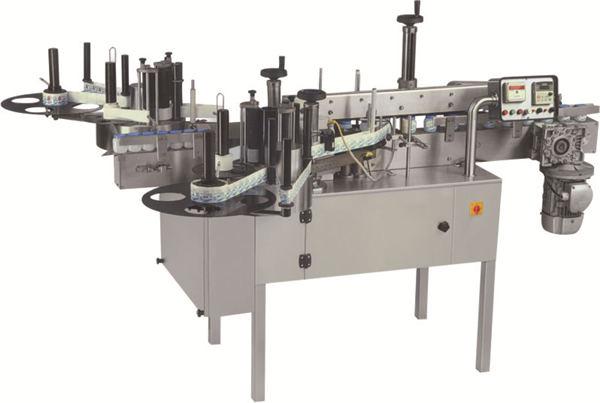 Makinë e etiketimit në anët e dyfishta të shisheve automatike