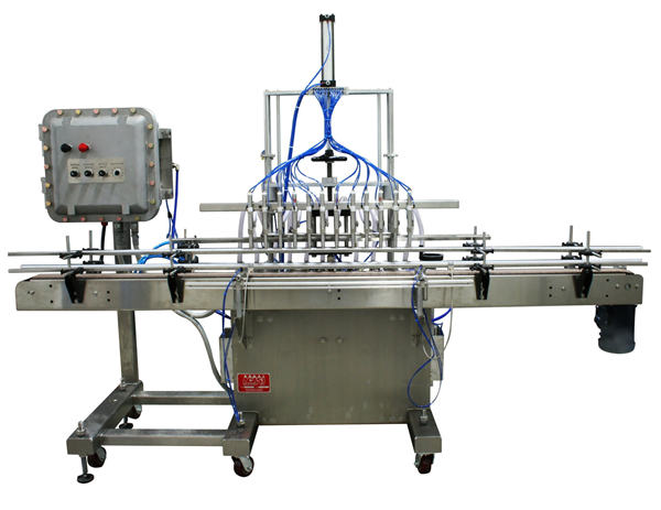 Makinë automatike për mbushjen e lëngshme me pistoni 50ml-1L